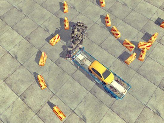 تحميل لعبة شاحنة نقل السيارات مجانا Truck Driver 3D Exam