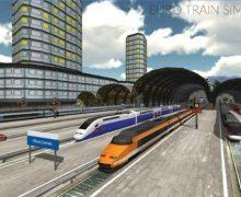 تحميل لعبة القطار الحقيقى مجانا Euro Train Simulator