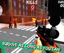 تحميل لعبة قناص الزومبي Zombie Sniper Gun 3D City Game