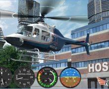 تحميل لعبة محاكاة قيادة الهليكوبتر Helicopter Simulator