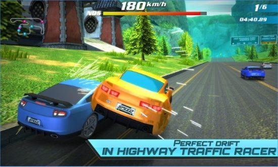 تحميل لعبة قيادة وسباق سيارات سريعة Drift car city traffic racer 2