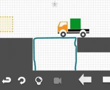 تحميل لعبة رسم المسار لشاحنة Brain it on the truck