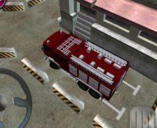 تحميل لعبة ركن سيارة الاطفاء مجانا Firetruck Parking 3D Game