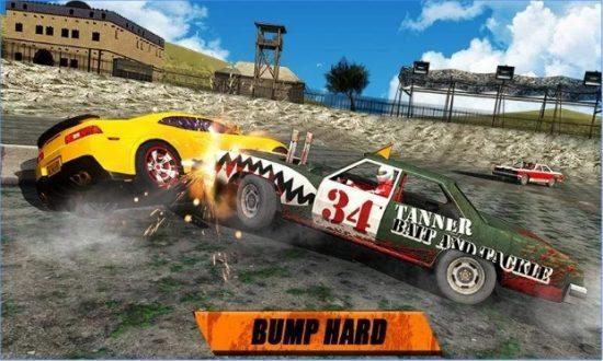 تحميل لعبة تصادم السيارات Whirlpool Car Derby 3D
