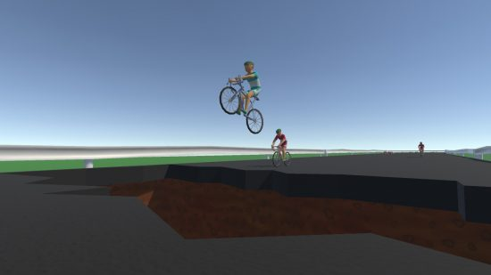تحميل لعبة الدراجات الهوائية للكمبيوتر مجانا Bikrash
