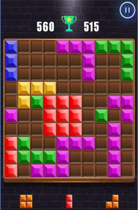 تحميل لعبة wood block puzzle للكمبيوتر