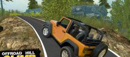 تحميل لعبة سيارات قوية للاندرويد Off-Road Racing Hill Climb