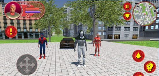 تحميل لعبة الرجل الحديدي للاندرويد Mortal Battle of Superheroes