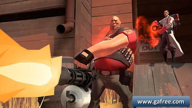 لعبة تصويب منظور الشخص الأول الجماعية Team Fortress 2