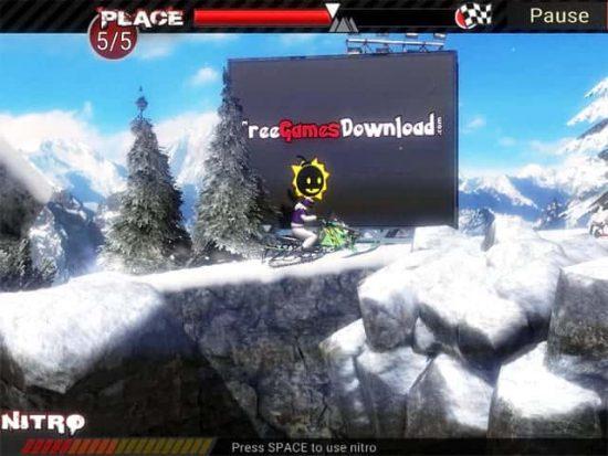 تحميل لعبة الدراجات الثلجية Snowmobile Extreme Racing