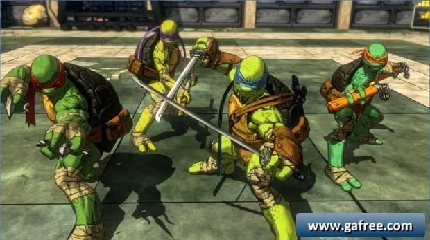 تحميل لعبة سلاحف النينجا للاندرويد Turtles Legend Ninja