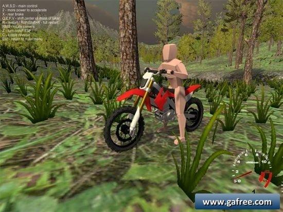 تحميل لعبة ابطال الدراجات Forest Bike