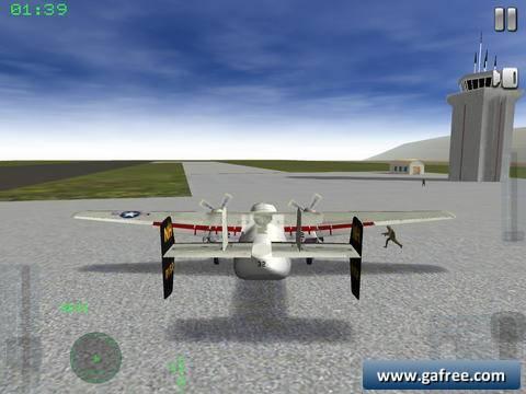 تحميل لعبة قتال الطائرات الحربية للايفون Air Navy Fighters