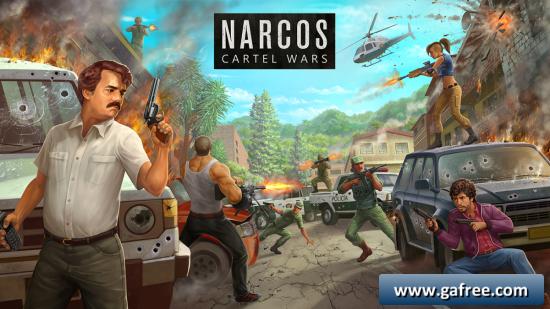 تحميل لعبة الحرب الجديدة للاندرويد Narcos Cartel Wars