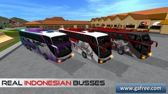 تحميل لعبة الحافلات الجديدة للاندرويد Bus Simulator Indonesia