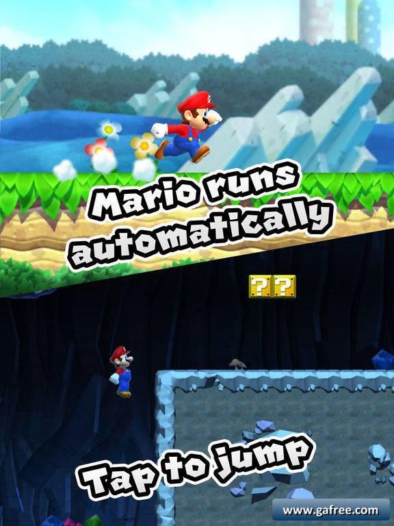 تحميل لعبة سوبر ماريو رن للايفون Super Mario Run