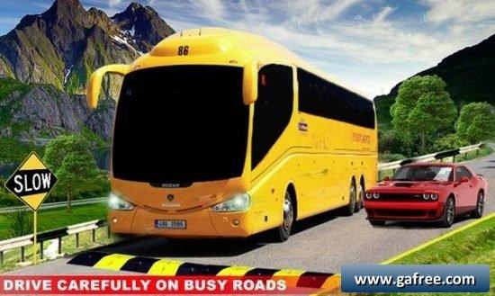 تحميل لعبة محاكاة قيادة الحافلة Modern Bus Drive Simulator