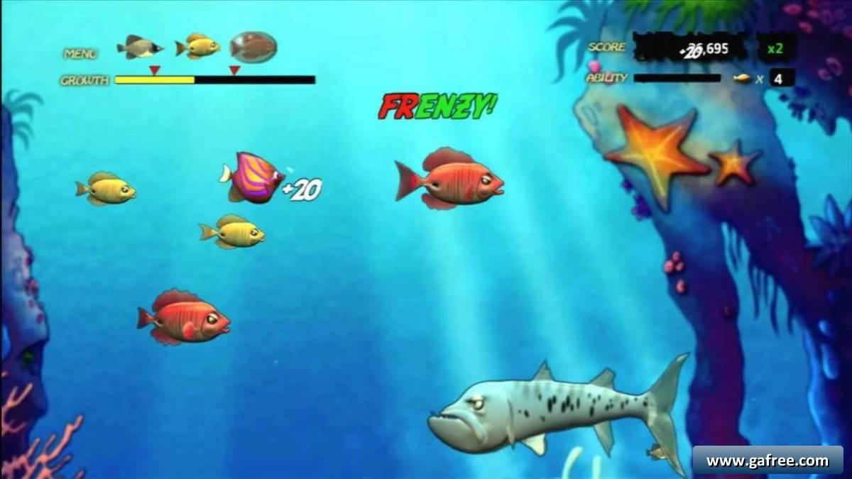 تحميل لعبة السمكة القديمة للكمبيوتر