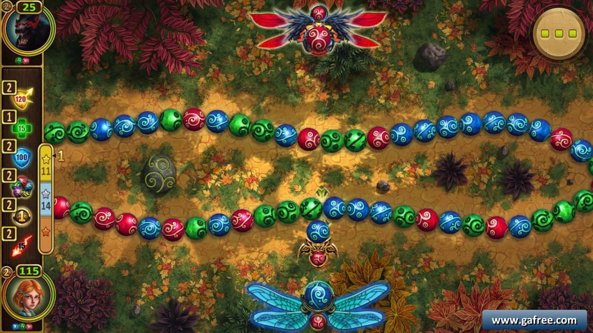 تحميل لعبة زوما الجديد Marble Duel