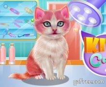 لعبة قطتي المدللة Kitty Dental Caring