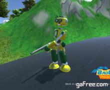 تحميل لعبة حرب الروبوتات الجديدة مجانا BadLands RoadTrip
