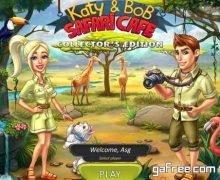 تحميل لعبة كاتي اند بوب الجديدة Katy And Bob: Safari Cafe – Collectors Edition
