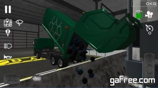 تحميل لعبة شاحنات نقل القمامة Trash Truck Simulator