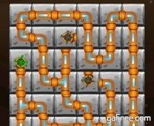 لعبة لغز توصيل الماء Plumber Pipe Connect