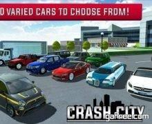 تحميل لعبة القيادة في المدينة الجديدة Crash City Heavy Traffic Drive