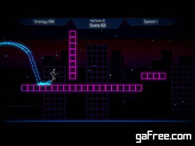 تحميل لعبة العداء Neon Void Runner