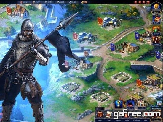 تحميل لعبة العرش مملكة الحرب Throne Kingdom at War