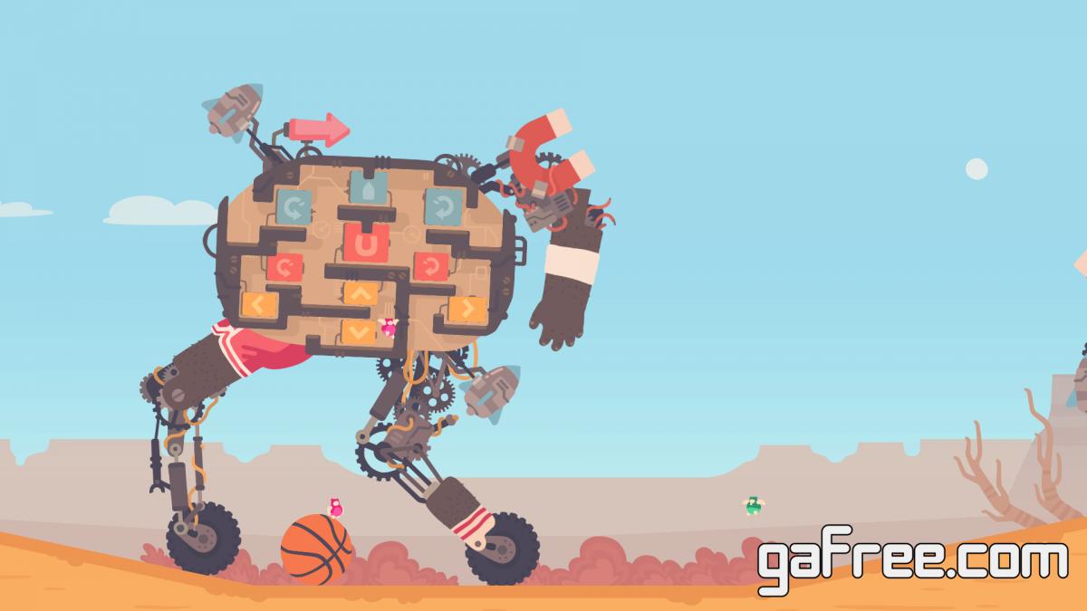 تحميل لعبة كرة السلة الجديدة للكمبيوتر Regular Human Basketball