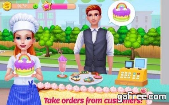 تحميل لعبة طبخ الكيكة My Bakery Empire