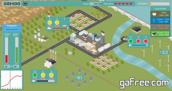 تحميل لعبة ادارة محطة الكهرباء Power the Grid