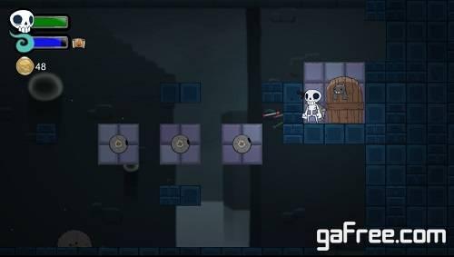تحميل لعبة مغامرات للكمبيوتر جديدة مجانا برابط واحد Skelattack