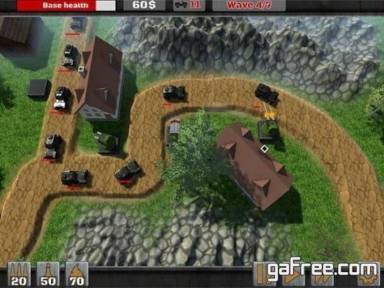 تحميل لعبة برج الدفاع للكمبيوتر الجديدة مجانا Tower Defence Sudden Attack