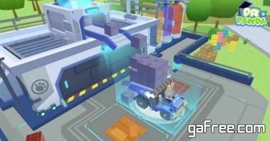 تحميل لعبة الباندا للموبايل Dr. Panda Trucks