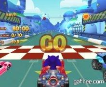 تحميل لعبة سباق سوبر سونيك Sonic Chibi Race