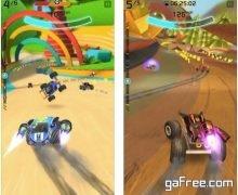 تحميل لعبة سباق السيارات للايفون الجديدة مجانا Rocket Cars