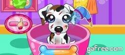 تحميل لعبة رعاية الكلاب Caring for puppy salon