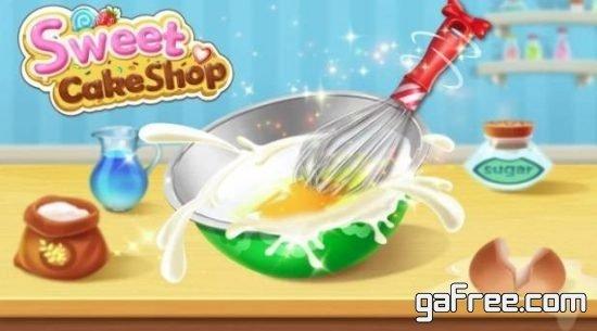 تحميل لعبة الحلويات الجديدة للاندرويد Sweet Cake Shop