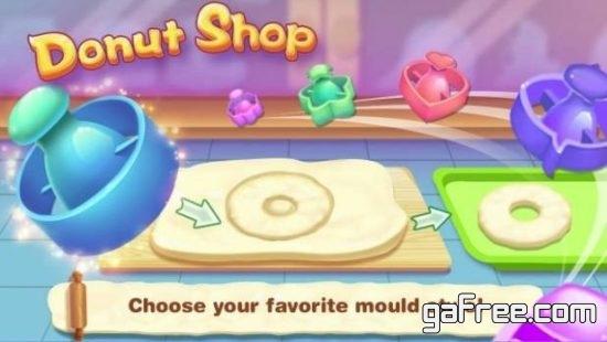 تحميل لعبة طبخ الكعك مجانا Donut Shop