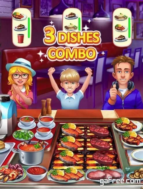 تحميل لعبة مطعم الوجبات السريعة للاندرويد Cooking Craze