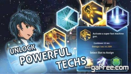 تحميل لعبة القتال في الفضاء مجانا Idle Space Clicker