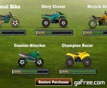 تحميل لعبة قيادة الدراجات النارية  للايفون الجديدة Footy Rider
