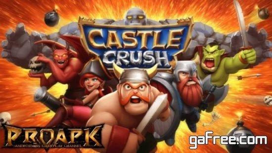 تحميل لعبة كاستل كلاش Castle Crush
