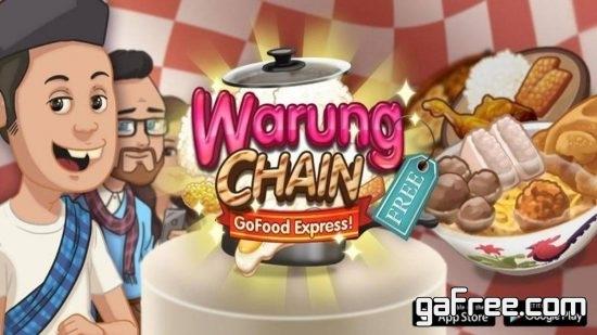 تحميل لعبة مطعم الوجبات السريعة للاندرويد Warung Chain: Go Food Express