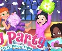 تحميل لعبة عالم البنات PJ Party Girl Sleepover
