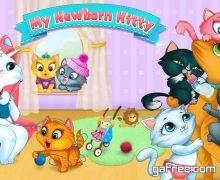 تحميل لعبة عالم القطط My Newborn Kitty - Fluffy Care