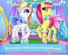 تحميل لعبة مهرتي الصغيرة Pony Princess Academy